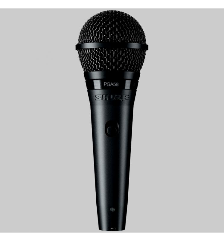 Micrófono Vocal Dinámico ideal para Voces Principales y Coros.