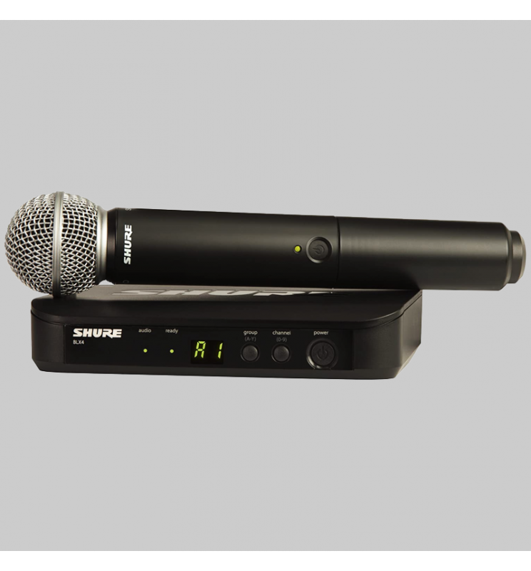 Micrófono Inalambrico ideal para voces principales y Coros de alto alcance y calidad.